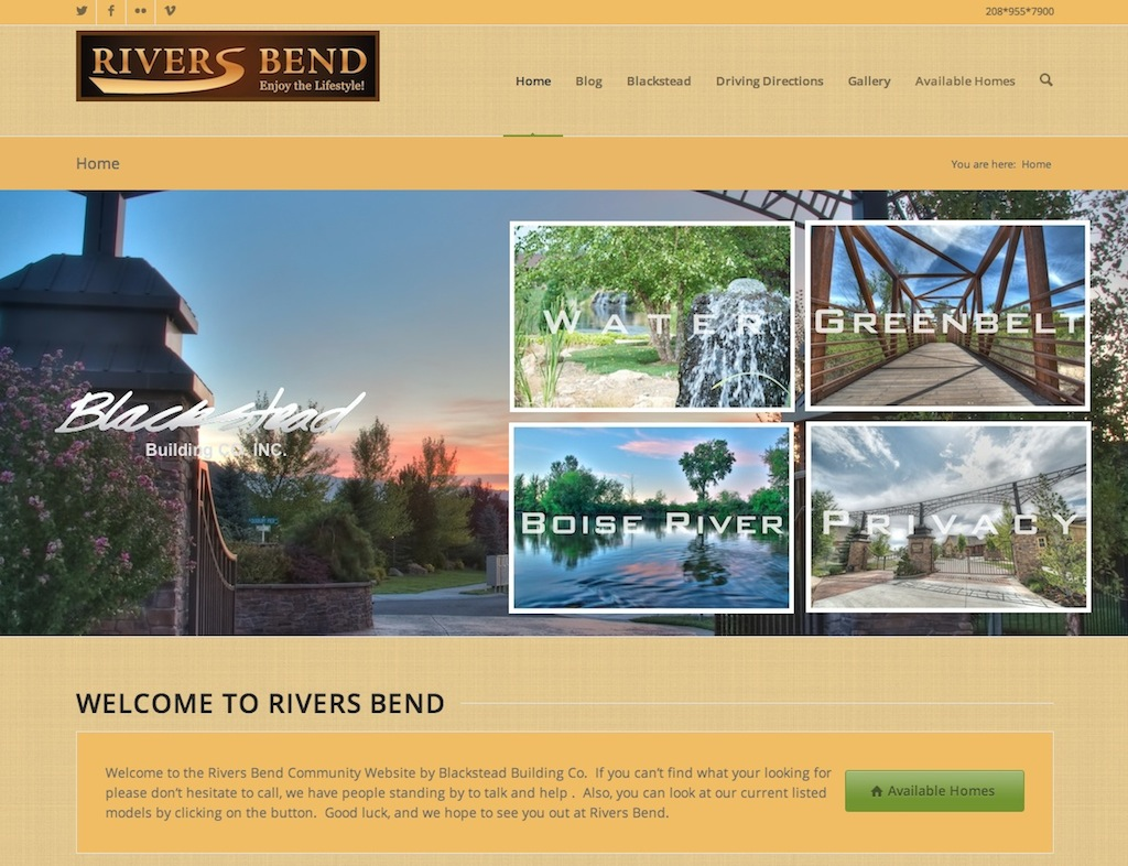 rivers bend web